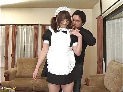 Video of hairy pussy Japanese filly Sakura Kawamine having sex