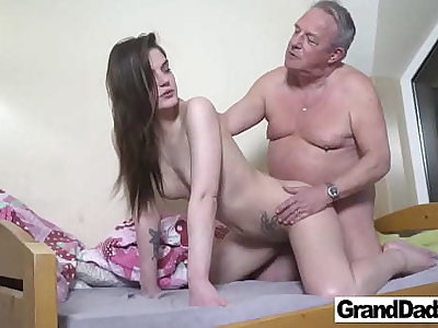 Old Perv wants yon Cum close to My Mouth