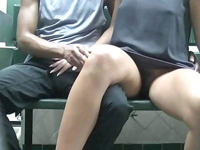 Helena Price Public Laundry Upskirt Glossy Tease! Exhibitionist MILF Vs College Voyeur at the laundry! (Part2)