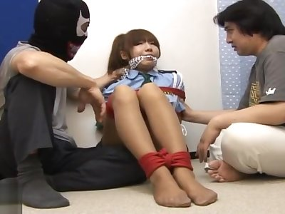 jpdamsel - miki policewoman bondage