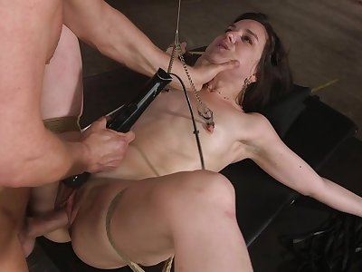 Required close to girlfriend Juliette Match enjoys getting brutally distressful