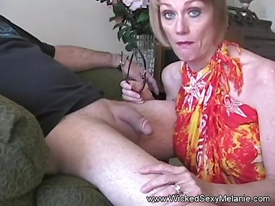 Enjoy this wild blowjob non-native the great Wicked Down in the mouth Melanie.