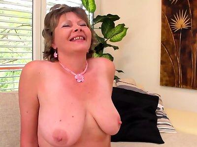 avant-garde big knocker grandmas first porn video filmed