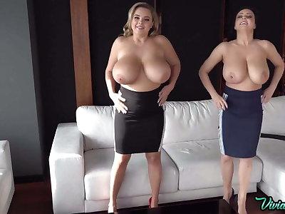 Russian pornstar almost huge tits Vivian Redden