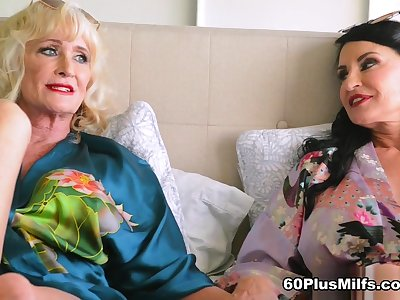 In Bed With Leah L'amour And Rita Daniels - Leah L'amour And Rita Daniels - 60PlusMilfs